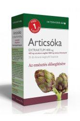 INTERHERB NAPI1 Articsóka Extraktum kapszula 400 mg 30db