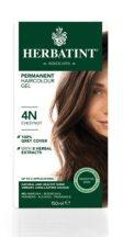 Herbatint természetes tartós hajfesték 4N (gesztenye) 150ml