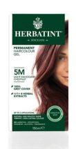 Herbatint természetes tartós hajfesték 5M ( mahagóni világos gesztenye) 150ml