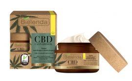 BIELENDA CBD CANNABIDIOL - hidratáló és detox hatású arckrém zsíros és kombinált bőrre 50 ml