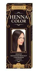 Henna color hajfesték 19 fekete 75 ml