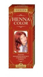 Henna Color hajfesték 10 gránát vörös 75ml