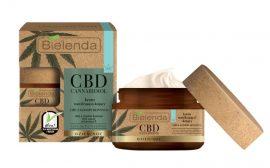 BIELENDA CBD CANNABIDIOL - hidratáló és nyugtató hatású arckrém száraz és érzékeny bőrre 50 ml