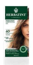Herbatint természetes tartós hajfesték 6D ( sötét aranyszőke) 150ml