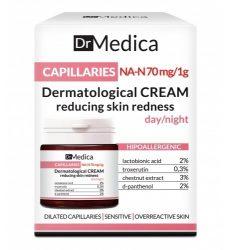 BIELENDA DR. MEDICA CAPILLARIES - dermatológiai bőrpírt csökkentő arckrém