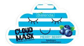 BIELENDA CLOUD MASK - merry berry méregtelenítő hatású buborékmaszk