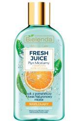BIELENDA FRESH JUICE - hidratáló hatású micellás folyadék 100 ml