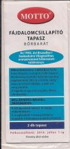 MOTTO fájdalomcsillapító tapasz bőrbarát  (kék)